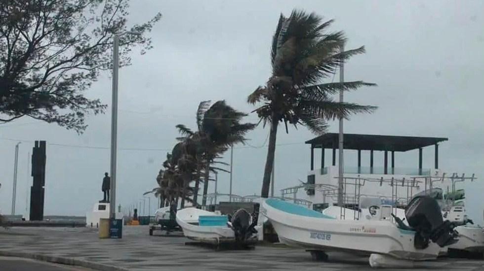 Frente Frío 26 provocará en Veracruz fuertes rachas de viento - Mal clima por Frente Frío 26 en Veracruz. Foto de El Dictamen