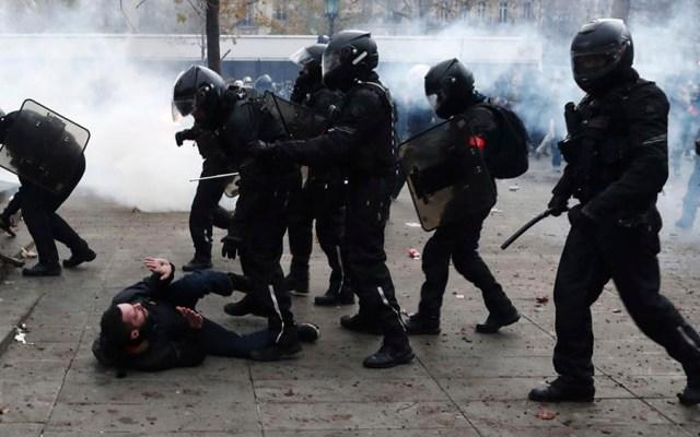 Manifestación en París deja enfrentamientos y 71 detenidos - Manifestación en París deja enfrentamientos y 71 detenidos