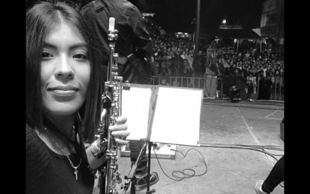 Hay varias órdenes de aprehensión por ataque a saxofonista María Elena Ríos: fiscalía - La saxofonista María Elena Ríos. Foto de Archivo de José de Jesús Cortés.