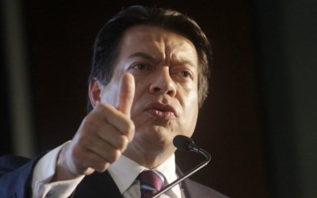 Mario Delgado responsabilizó a Felipe Calderón de la espiral de violencia en el país - Foto de Notimex