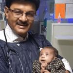 Rescatan a bebé enterrada viva en India