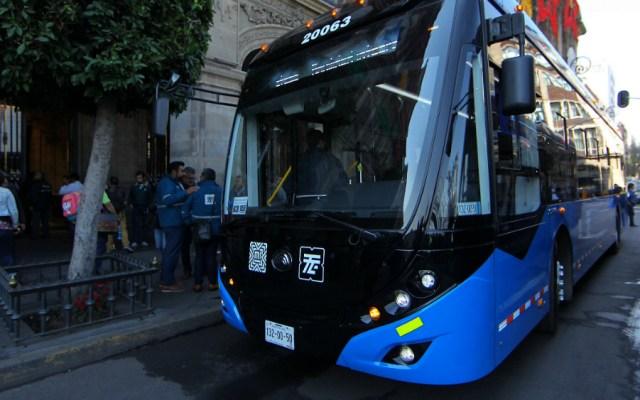 En marcha 23 nuevas unidades del trolebús en la capital - Foto de Notimex