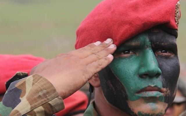 Brasil retiene a cinco militares venezolanos en reserva indígena - Militar venezolano. Foto de @ejercito_bolivariano