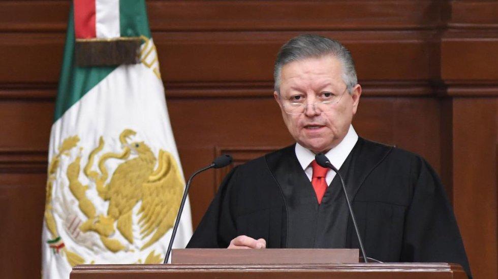 Continuará combate a la corrupción en el Poder Judicial, asegura Arturo Zaldívar - Arturo Zaldívar, ministro Presidente de la Suprema Corte de Justicia de la Nación. Foto de @SCJN