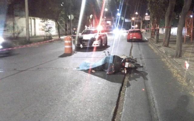 Muere motociclista tras caer en Zanja en Azcapotzalco - Motociclista Azcapotzalco Calzada de la Naranja