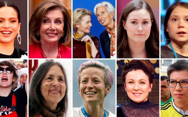 Las 10 mujeres que hicieron historia en 2019 - Mujeres que hicieron historia en 2019. Foto de EFE