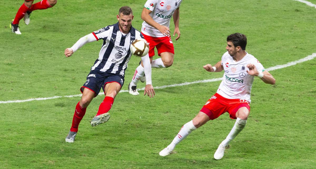Necaxa Monterrey partido Liga MX