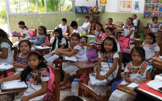 Será obligatoria enseñanza de maya en escuelas de Yucatán - Foto de El Diario de México