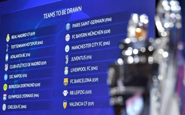 Así se jugarán los Octavos de Final de la Champions League - Champions League