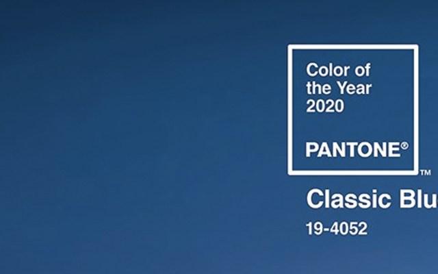 Pantone elige a Classic Blue como el color del 2020 - Foto de Pantone