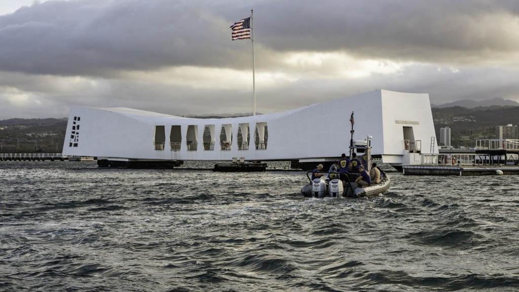 Pearl Harbor Hawaii Astillero Muelle