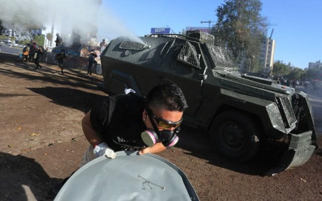 Conmoción en Chile por hombre que murió electrocutado en manifestación - Foto de EFE