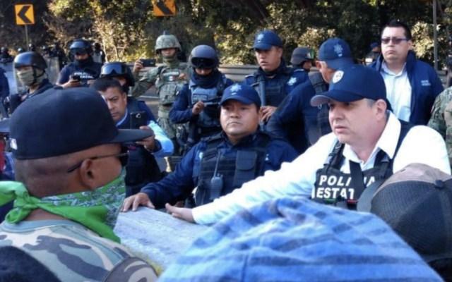Pobladores levantan bloqueo en autopista Puebla-Veracruz - Foto de @SP_Veracruz