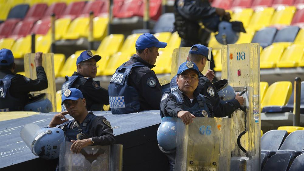 Operativo Estadio Seguro en el Azteca por duelo América contra Monterrey - Foto de Mexsport