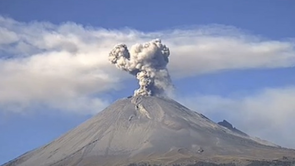 Instalan cámaras HD en el Popocatépetl y el Volcán de Colima - Popocatépetl