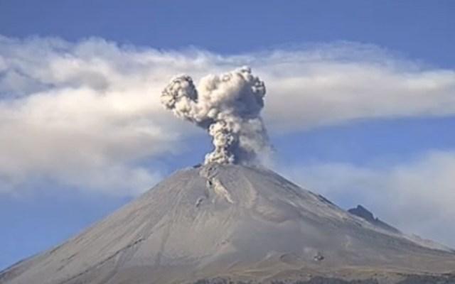 Volcán Popocatépetl emite 117 exhalaciones en últimas 24 horas - Popocatépetl