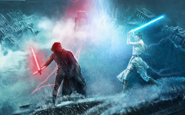 'El ascenso de Skywalker' repite como líder de la taquilla de EE.UU. - Póster inspirado en Star Wars: El ascenso de Skywalker. Foto de @StarWarsLATAM / @AdStothard