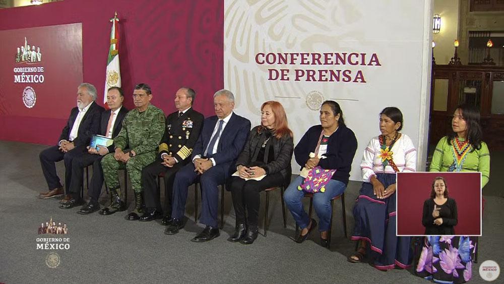 Entregan Premio Nacional de Derechos Humanos a Otilia Eugenio Manuel - Entregan Premio Nacional de Derechos Humanos a Otilia Eugenio Manuel
