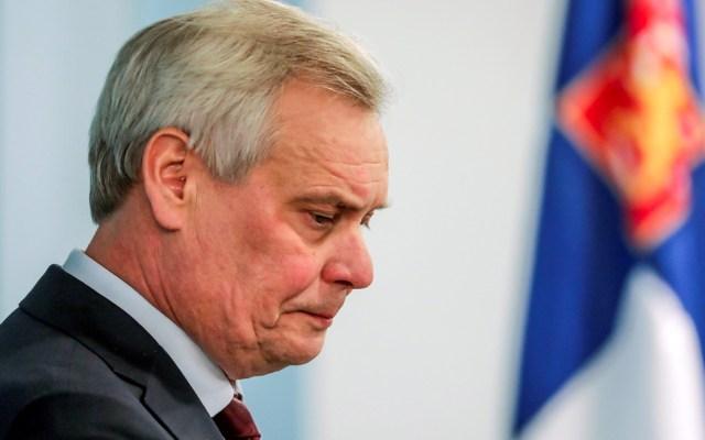 Primer ministro de Finlandia renuncia por huelga del servicio postal - Primer ministro de Finlandia