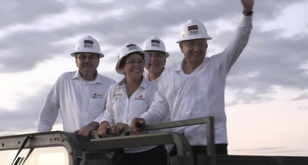 """""""Gran visita"""" a obra de nueva refinería de Pemex, expresa Rocío Nahle - Rocío Nahle Tabasco refinería Pemex"""