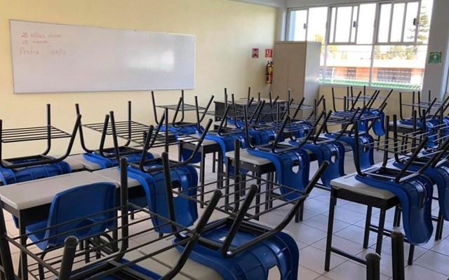 SEP lanza convocatoria 2020 para nuevas plazas - Salón de clases vacío