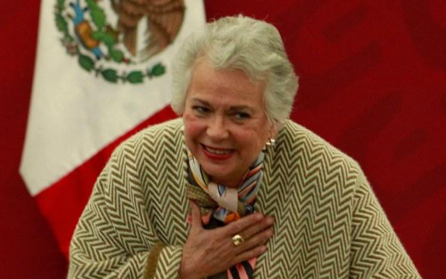No hay malestar de mandatarios exhibidos, asegura Sánchez Cordero - Titular de Gobernación, Olga Sánchez Cordero