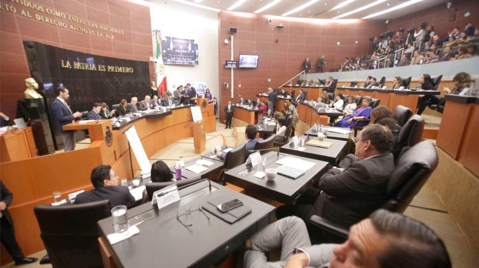 Comisiones del Senado avalan dictamen de adenda del T-MEC; pasa al Pleno - Senado avala dictamen de adenda del T-MEC; pasa al pleno