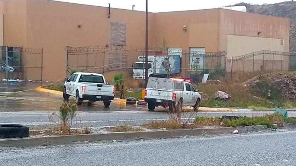 Fiscalía de Baja California investiga asesinato de migrante salvadoreño - Sitio de hallazgo de migrante salvadoreño muerto. Foto de alfredoalvarez.mx