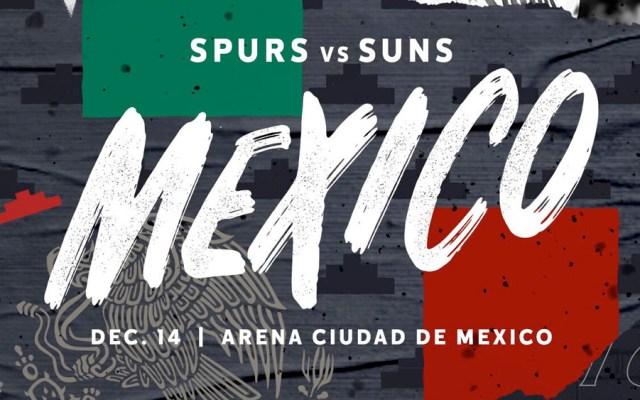 Spurs y Suns buscarán continuar con el espectáculo de la NBA en México - spurs suns nba México