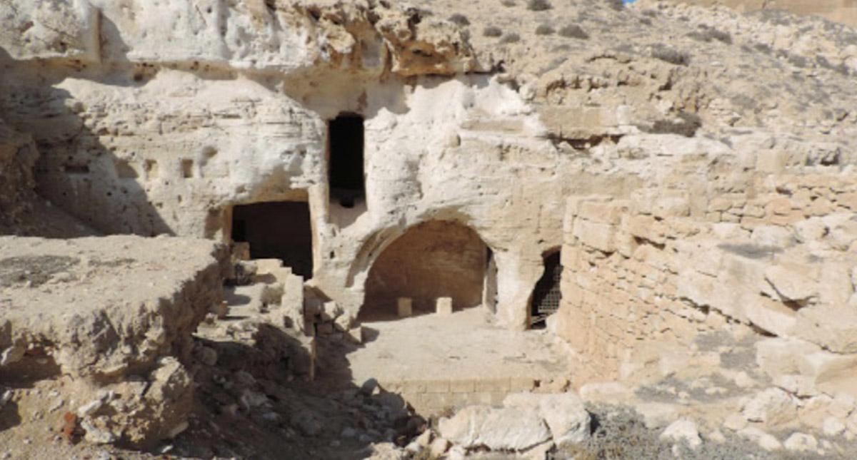 Sitio arqueológico de Taposiris Magna en Egipto. Foto de Google Maps / Mariusz Gwiazda