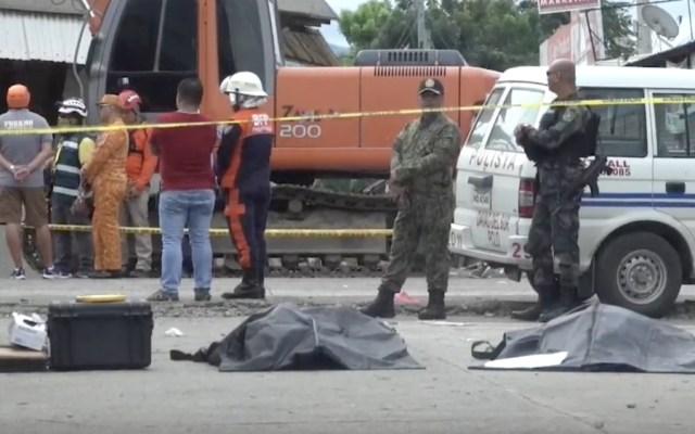Ya son 11 los muertos por terremoto en Filipinas - Foto de EFE