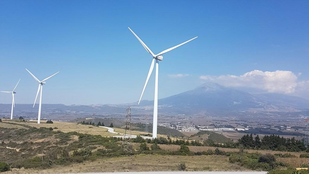 Publican política para regular centrales de energía limpia - Aerogeneradores en México. Foto de Global Wind Energy Council / Flickr