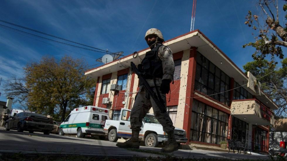 Instalan base de Guardia Nacional en Villa Unión tras enfrentamiento - Foto de EFE