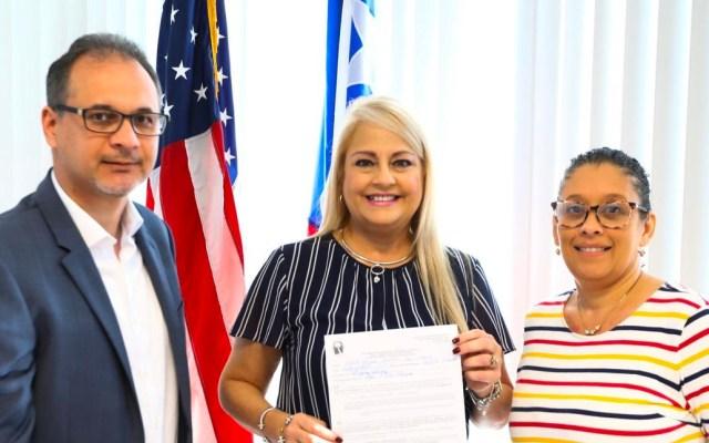 Wanda Vázquez formaliza su candidatura a la gobernación de Puerto Rico - Wanda Vázquez formaliza su candidatura a la gobernación de Puerto Rico