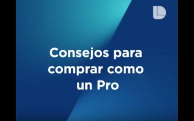 #Video Consejos para comprar como un Pro