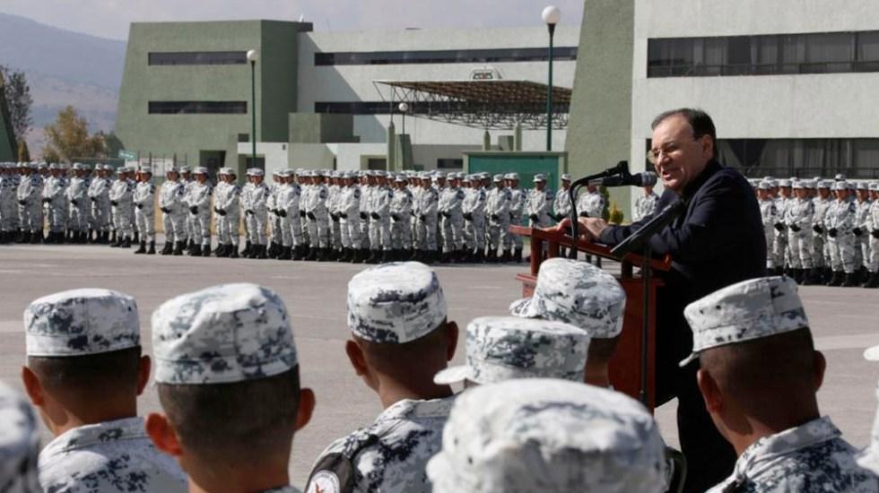 """Vienen meses difíciles"", advierte Durazo a Guardia Nacional -"