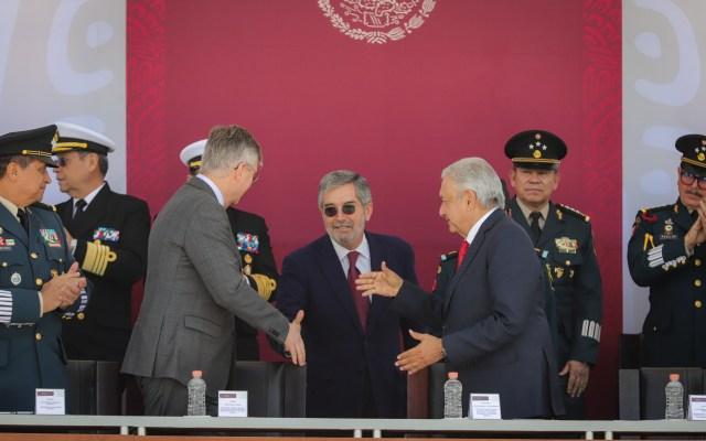 México puede ofrecer alternativas en Consejo de Seguridad de la ONU, dijo De la Fuente - Juan Ramón de la Fuente afirmó que el Cecopam, que fue inaugurado el miércoles, servirá para lograr una paz duradera en el mundo