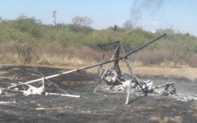 Cae aeronave en Morelos; muere el alcalde de Ocuilan - Foto de @radiomex