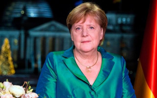 Merkel visitará Rusia para debatir sobre Medio Oriente y Ucrania - Angela Merkel en mensaje de Año Nuevo. Foto de EFE