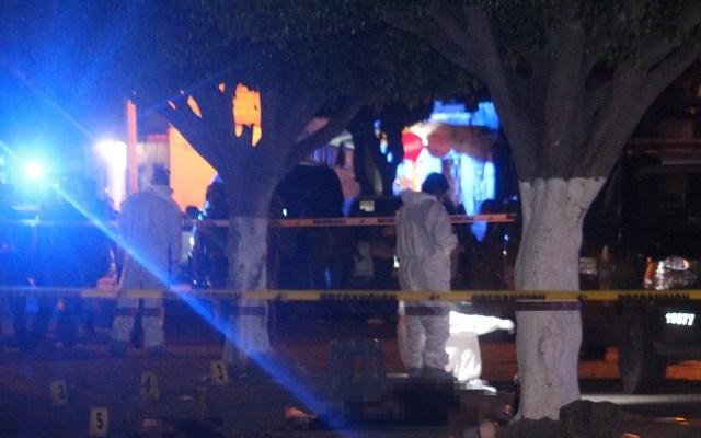 Fin de semana violento en Guanajuato; asesinan a 29 personas - Asesinato de 7 personas en puesto de tacos de la colonia Tres Guerras, Celaya. Foto de EFE