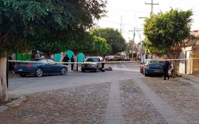 Asesinan en Guanajuato a 66 personas en los primeros cinco días del año - Asesinato de dos personas en Celaya. Foto de Guanajuato Informa