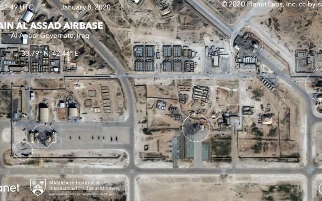 Ataque a base militar iraquí sí hirió a 11 militares estadounidenses - Foto de EFE
