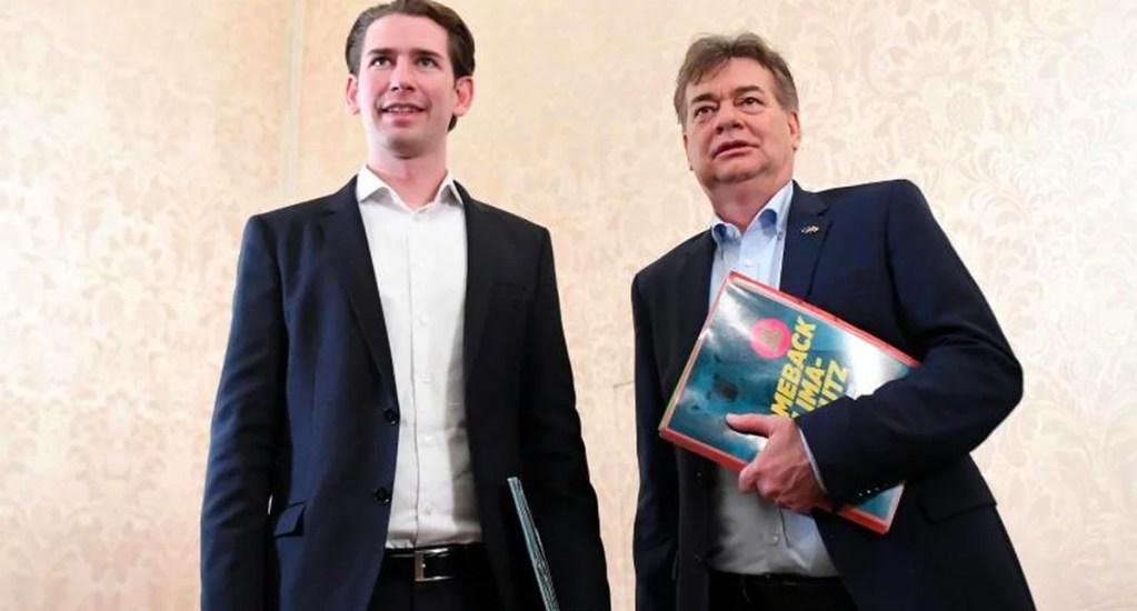Conservadores y ecologistas pactan un Gobierno de coalición en Austria - Conservadores y ecologistas pactan un Gobierno de coalición en Austria