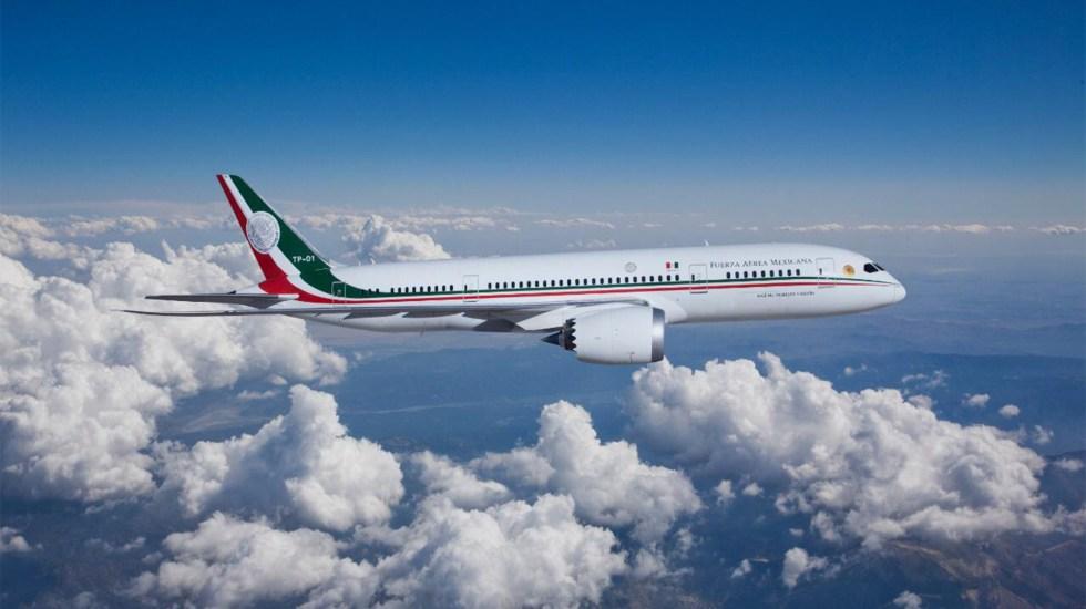 AMLO propone rifar avión presidencial con 6 millones de 'cachitos' - Avión Presidencial. Foto de Gobierno de México.