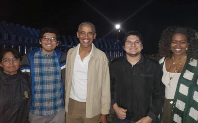 Barack y Michelle Obama visitan Loreto, BCS - Foto de Guía Loreto BCS
