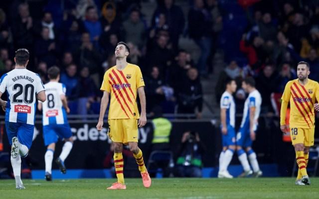 Barcelona empata con Español y se deja alcanzar por Real Madrid - Foto de EFE