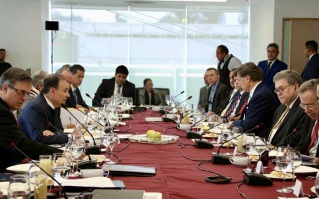 Senadores pedirán informe de acuerdos entre México y fiscal de EE.UU. - Foto de @SSPCMexico