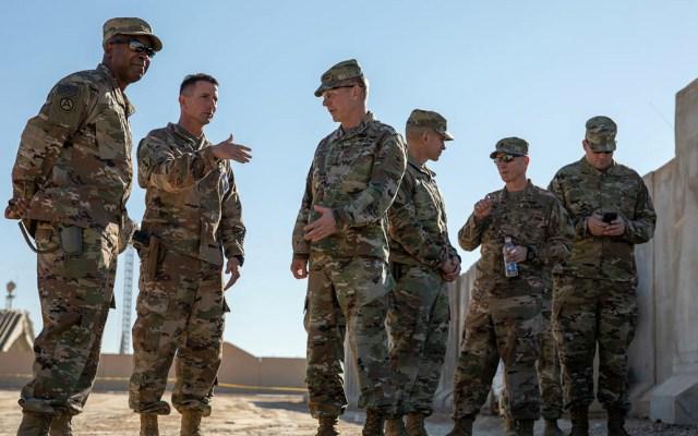 EE.UU. no descarta otra ofensiva para responder al ataque a sus tropas en Irak - Base Al Asad Irak