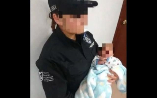 Fiscalía recupera a bebé robado en la Ciudad de México - Foto de Noticieros Televisa