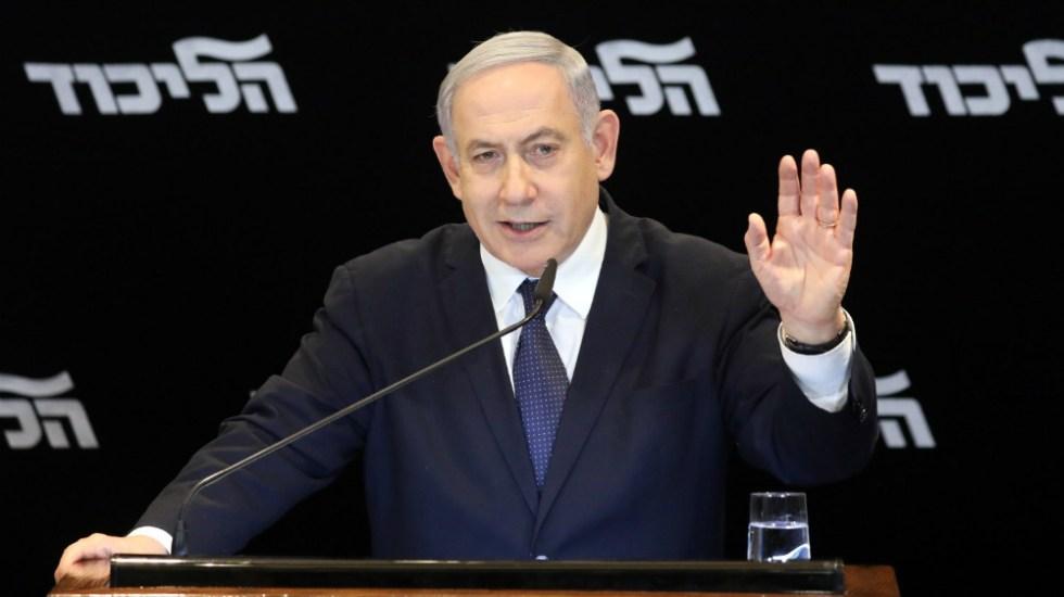 Pide Netanyahu inmunidad ante acusaciones de corrupción - Foto de EFE